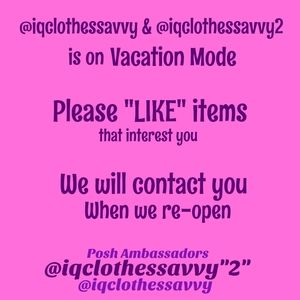 Other - Vacation Mode = Re-open soon